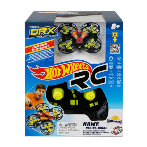 Hot Wheels Uzaktan Kumandalı DRX Hawk Racing Drone 2.4 GHz Işıklı