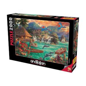 2000 Parça Puzzle : Ada Hayatı