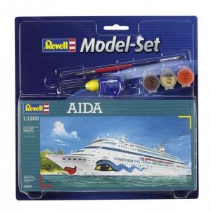 Revell 1:1200 Aida Model Set Gemi