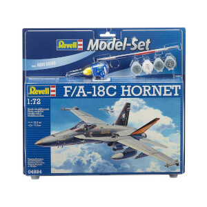 Revell 1:72 F/A-18C Hornet Model Set Uçak 64894