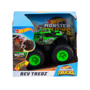 Hot Wheels Monster Trucks Çek Bırak Araba FYJ71