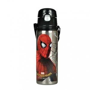 Spiderman Çelik Matara 600 ml.