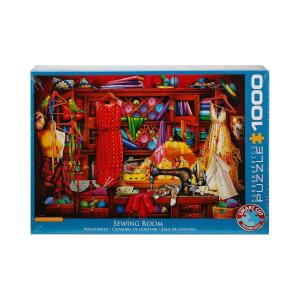 1000 Parça Puzzle : Sewing Room - Ciro Marchetti