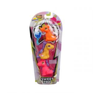 Pop Star Pony 3'lü Figür