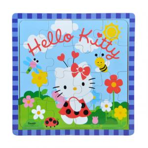 Hello Kitty Ahşap Puzzle