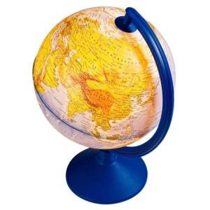 Işıklı Fiziki - Siyasi Dünya Küresi 20 cm.
