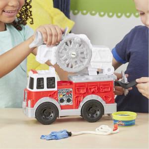 Play Doh Çalışkan İtfaiye Aracı Oyun Hamur Seti E6103