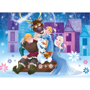3x48 Parça Puzzle : Frozen Olaf's Adventure