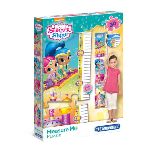 30 Parça Puzzle : My Meter Shimmer and Shine