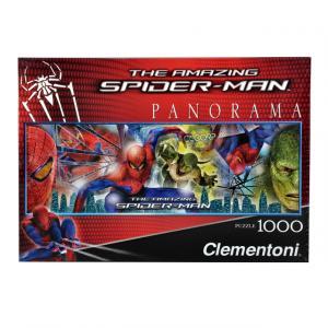 1000 Parça Puzzle : Spiderman Panorama