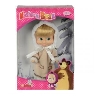 Maşa Bebek 12 cm. (Kış Kıyafetli)