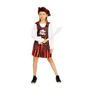 Korsan Şapkalı Kız Kostüm S Beden
