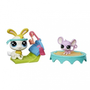 Littlest Pet Shop Oyun Set (Gym Buddies)