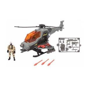 Sesli ve Işıklı Soldier Force Askeri Helikopter Oyun Seti