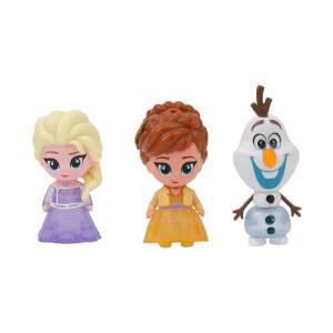 Frozen 2 Işıklı 3'lü Mini Figür 7 cm.