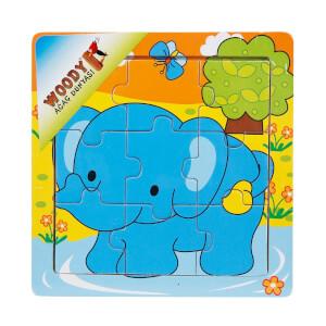 9 Parça Mini Puzzle