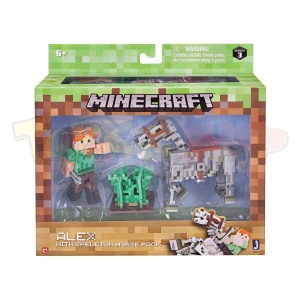 Minecraft Alex ve İskelet Atı MNC03000