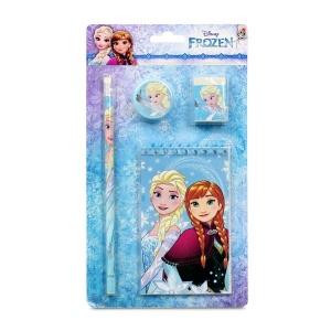 Frozen 4'lü Kırtasiye Seti