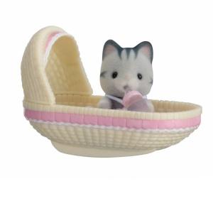 Sylvanian Families Bebek Kedi ve Yatağı
