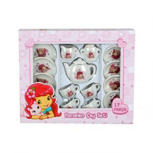 Çilek Kız Çay Seti