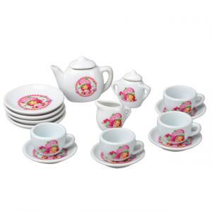Çilek Kız Porselen Çay Takımı