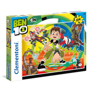 104 Parça Puzzle : Ben 10