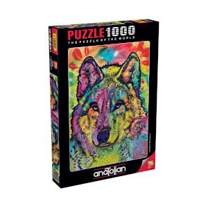1000 Parça Puzzle : Kurt Bakışı