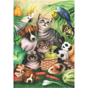 260 Parça Puzzle : Büyülü Hayvanlar