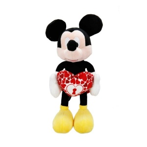 Mickey I Love You Peluş 25 cm.