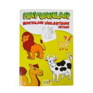 Hayvanlar Noktaları Birleştirme Kitabı
