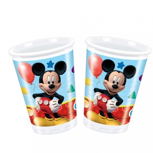 Mickey 8'li Plastik Bardak