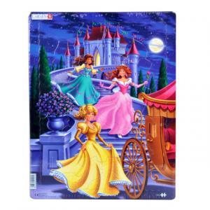 35 Parça Maxi Puzzle : Prensesler
