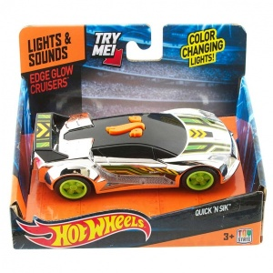 Hot Wheels Sesli ve Işıklı Edge Glow Cruiser