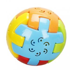 Puzzle Aktiviteli Emekleme Topu