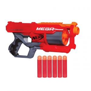 Nerf N-Strike Elite 6 Dartlı Mega Cyclone Shock