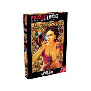 1000 Parça Puzzle : Frida Kahlo