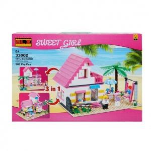 Tatlı Kız Yapı Seti: Plaj Evi - Değirmen