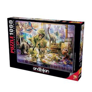 1000 Parça Puzzle : Dinazorlar Sahnede