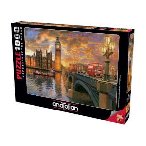 1000 Parça Puzzle : Londra'da Günbatımı