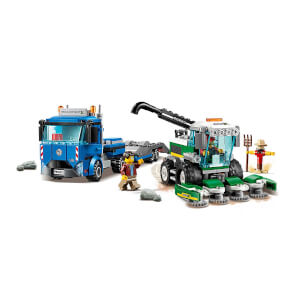 LEGO City Great Vehicles Biçerdöver Nakliye Aracı 60223