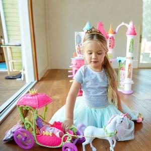 Barbie Dreamtopia Şeker Krallığı Faytonu DYX31