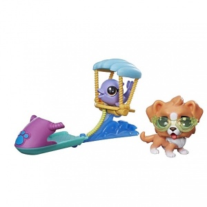 Littlest Pet Shop Oyun Set (Paraglidings Pets)
