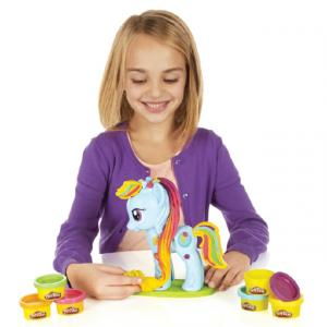 Play Doh Rainbow Dash Saç Stüdyosu