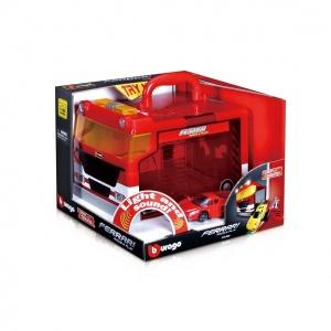 1:43 Sesli ve Işıklı Ferrari Garaj Seti