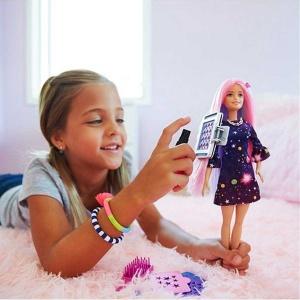 Barbie Renk Partisi Saçlar FHX00