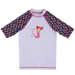 Slipstop Mermaid UV Korumalı Çocuk Tişört