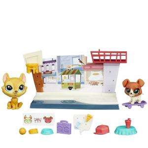Littlest Pet Shop Miniş Hikaye Seti (Cafe)