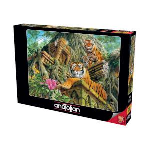 1000 Parça Puzzle : Tapınak Bekçileri