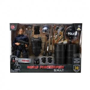 World Peacekeepers - S.W.A.T - Oyuncak Polis ve Aksesuarları Oyun Seti