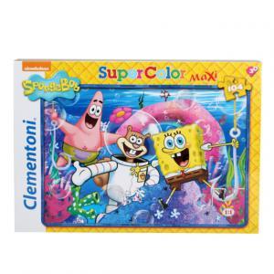 104 Parça Maxi Puzzle : SpongeBob